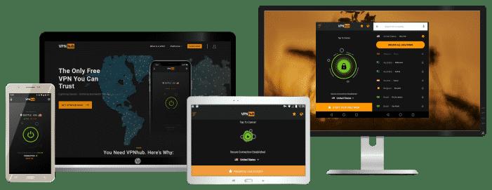 VPNhub devices