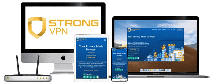 StrongVPN devices